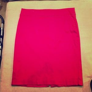 Lord & Taylor Pink Knee-Length Skirt 14